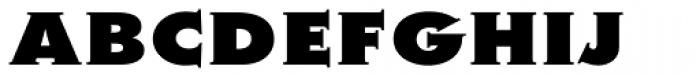 Metra Serif Xtra Bold Caps Font LOWERCASE