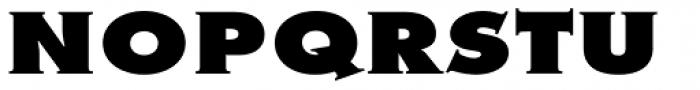 Metra Serif Xtra Bold Font UPPERCASE