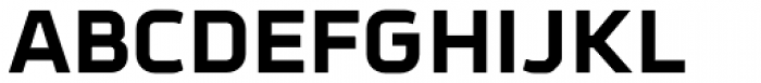 Metral ExtraBold Font UPPERCASE