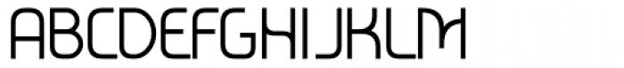 Metrica Regular Font UPPERCASE