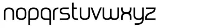 Metrica Regular Font LOWERCASE