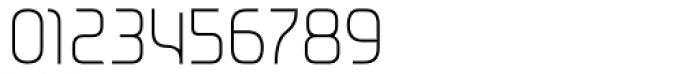 Metrica Thin Font OTHER CHARS