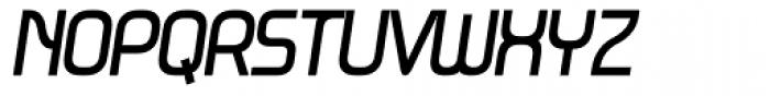Metrica UltraBold Italic Font UPPERCASE