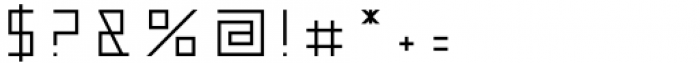 Metrika Regular Font OTHER CHARS