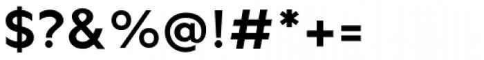 Metrisch Bold Font OTHER CHARS