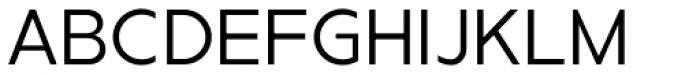 Metrisch Book Font UPPERCASE