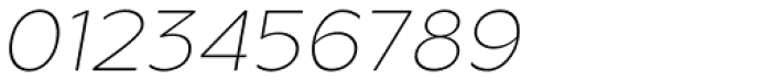 Metrisch ExtraLight Italic Font OTHER CHARS
