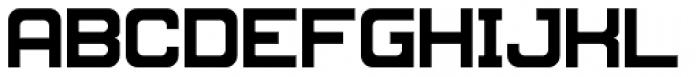 MetroGothic Font UPPERCASE