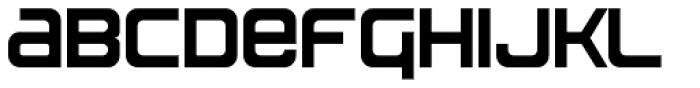 MetroGothic Font LOWERCASE