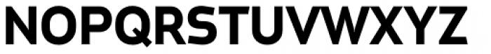 Metroflex Wide Bold OSF Font UPPERCASE