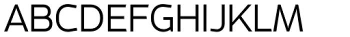 Metroflex Wide Light OSF Font UPPERCASE