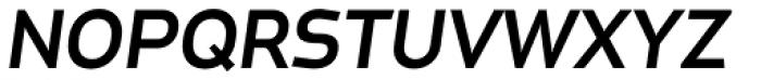 Metroflex Wide Med Obl OSF Font UPPERCASE