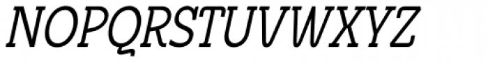 Metrolite Condensed Italic Font UPPERCASE