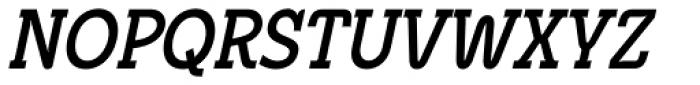 Metrolite Pro Bold Condensed Italic Font UPPERCASE