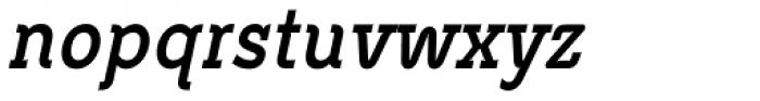 Metrolite Pro Bold Condensed Italic Font LOWERCASE