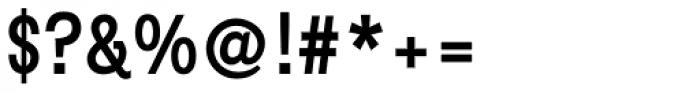 Metrolite Pro Bold Condensed Font OTHER CHARS