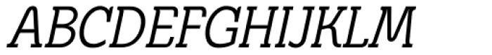 Metrolite Pro Condensed Italic Font UPPERCASE