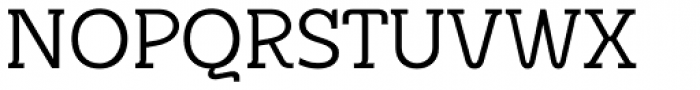 Metrolite Font UPPERCASE