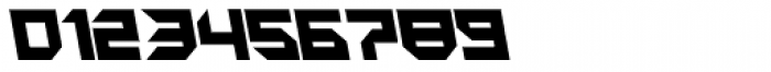 Metron Closed A Italic Font OTHER CHARS