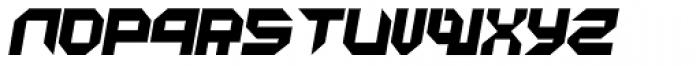 Metron Closed Italic Font LOWERCASE