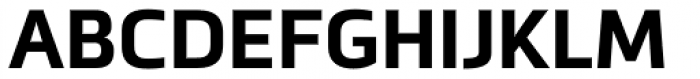 Metronic Pro Bold Font UPPERCASE