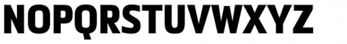 Metronic Pro Cond Black Font UPPERCASE