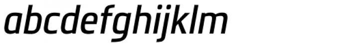 Metronic Pro Cond Italic Font LOWERCASE