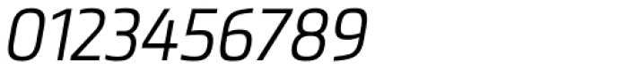 Metronic Pro Cond Light Italic Font OTHER CHARS