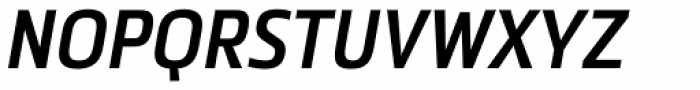 Metronic Pro Cond SemiBold Italic Font UPPERCASE
