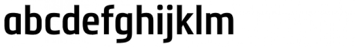Metronic Pro Cond SemiBold Font LOWERCASE