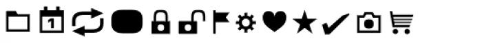 Metronic Pro Icons Font UPPERCASE