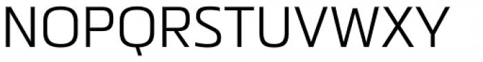 Metronic Pro Light Font UPPERCASE