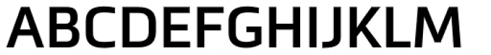 Metronic Pro SemiBold Font UPPERCASE