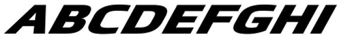 Metronic Pro Wide Extenso Black Font LOWERCASE