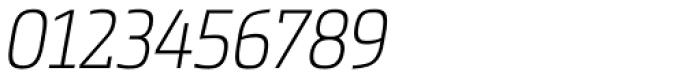 Metronic Slab Narrow Air Italic Font OTHER CHARS