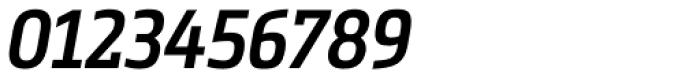 Metronic Slab Narrow Semi Bold Italic Font OTHER CHARS