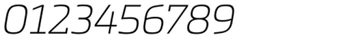 Metronic Slab Pro Air Italic Font OTHER CHARS