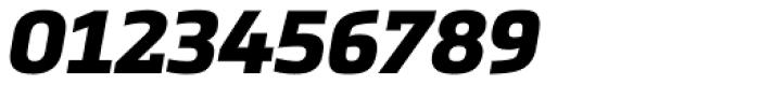 Metronic Slab Pro Black Italic Font OTHER CHARS
