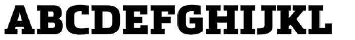 Metronic Slab Pro Black Font UPPERCASE