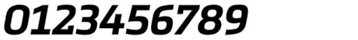 Metronic Slab Pro Bold Italic Font OTHER CHARS