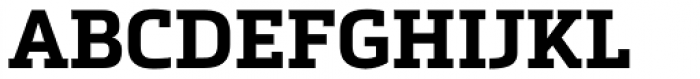 Metronic Slab Pro Bold Font UPPERCASE