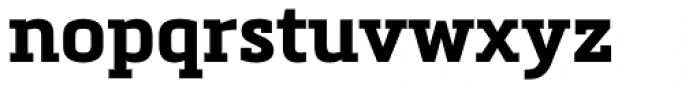 Metronic Slab Pro Bold Font LOWERCASE