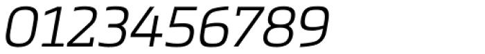 Metronic Slab Pro Light Italic Font OTHER CHARS