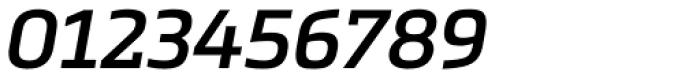 Metronic Slab Pro SemiBold Italic Font OTHER CHARS