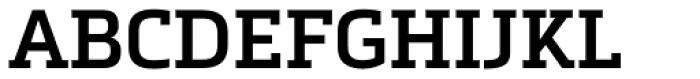 Metronic Slab Pro SemiBold Font UPPERCASE