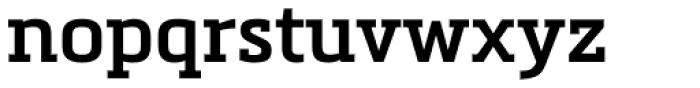 Metronic Slab Pro SemiBold Font LOWERCASE