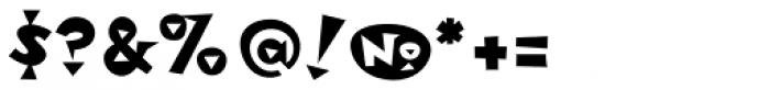 Metropol Noir Font OTHER CHARS