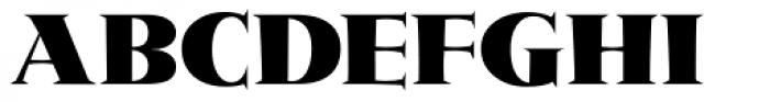 Metropolis ICG Font UPPERCASE