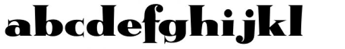 Metropolis ICG Font LOWERCASE