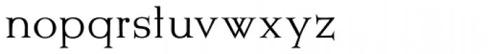 Metropolis SG ExtraLight Font LOWERCASE
